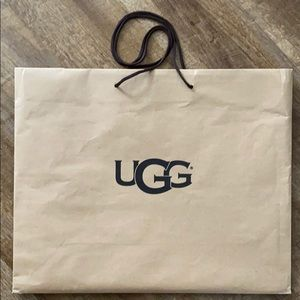 Large UGG shopping bag